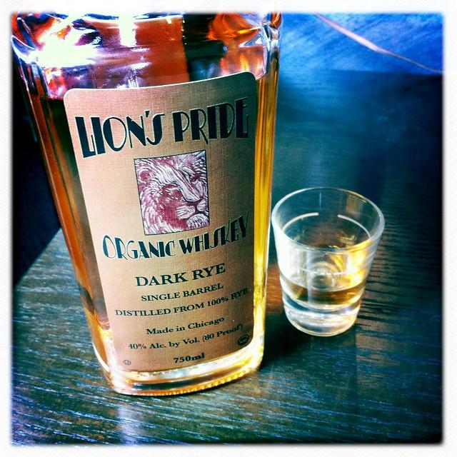 Lion's Pride Organic Rye Whiskey