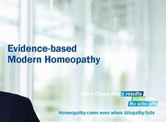 evidence-based modern homeopathy