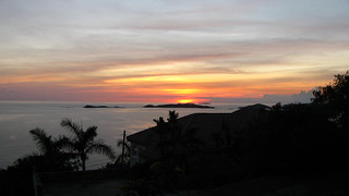 Imagem de Boatman Point Beach perto de Cruz Bay. sunset stjohn greatcruzbay jplahm