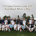 2010 LA Galaxy Adult Fantasy Camp - Final Match