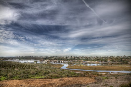 ocean beach bay back day pacific cloudy newport 100views hdr photomatix 8328 tonemapped 8326 8327