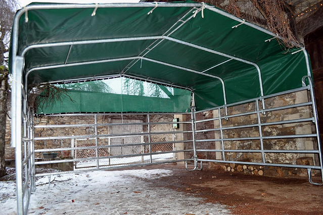Portable Horse Shelters : Dec quot portable horse shelter flickr photo sharing