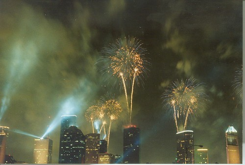 Fireworks Over Houston