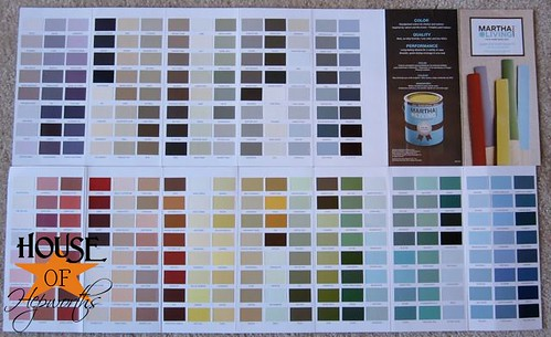 Martha Stewart Paint Color Chart Lowes Chart Martha Stewart Paint Color Chart