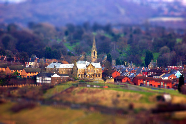 Tilt-shift Pitsmoor.. (Explore#199)