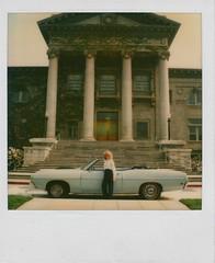 Blond Polaroid Convertible