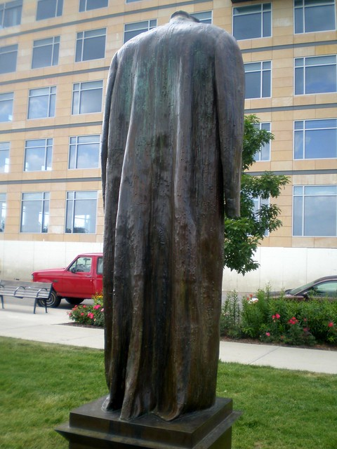 Judith Shea 'Post Balzac', 1990, Western Gateway Center, John and Mary Pappajohn Sculpture Park, Des Moines, Iowa