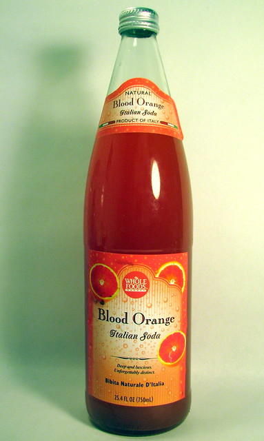 Whole Foods Blood Orange Italian Soda