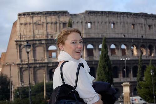 Malin och Colosseum