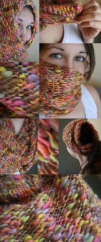 A Cosy Hand Knit Cowl Looks Less Creepy Than a Balaclava