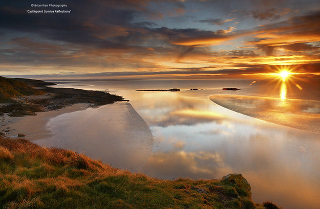 Sunrise Reflections - Dumfries and Galloway Life February 2012