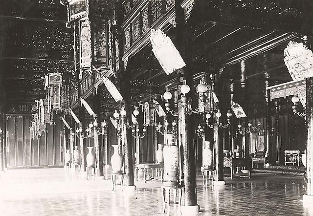 Hué. Appartements privés de l'empereur. Pavillon de plaisance [sic] 1919-26