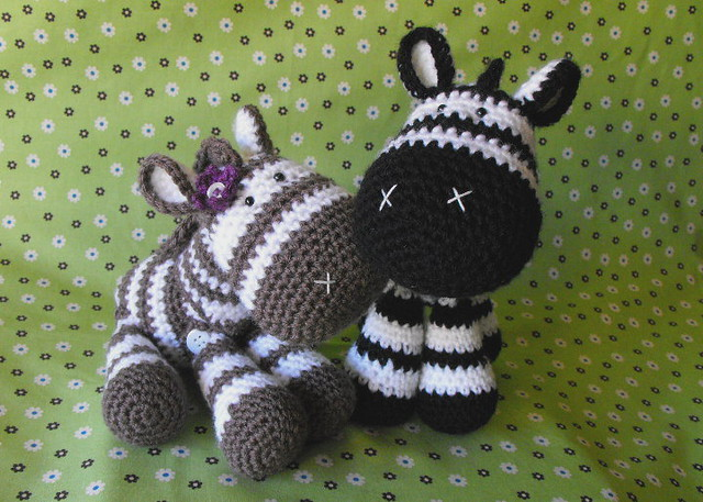 Free Crochet Zebra Patterns : Zeb the Zebra Flickr - Photo Sharing!