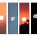 Sun n Moon - Dawn n Dusk by Arun's Nizhaloviam