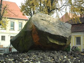 Image of Głaz narzutowy. racibórz ratibor