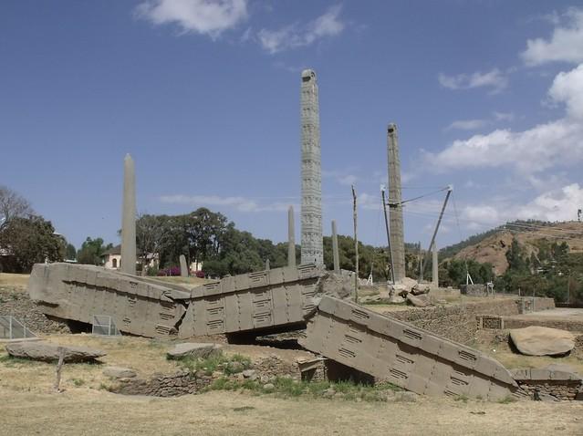 Stelae field, Axum, Ethiopia