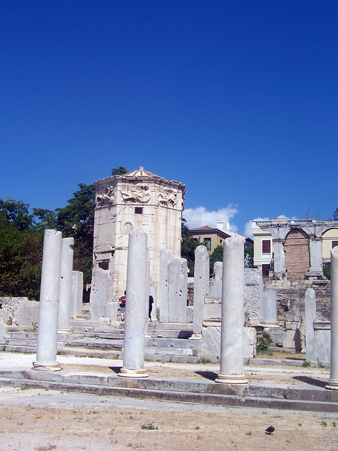 The East Propylon & The Tower of the Winds, The Roman Forum (Athens)