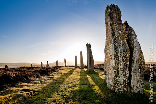 Sunrise over the Ring of Brodgar