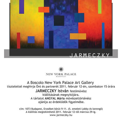 Jarmeczky István festőművész kiállítása