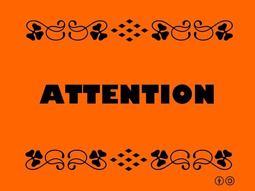 Buzzword Bingo: Attention