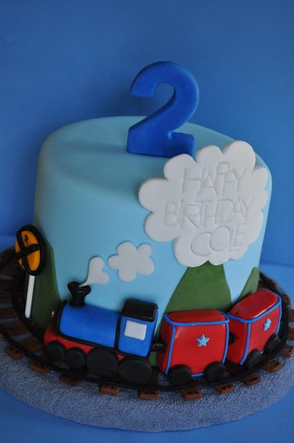 Торт поезд с фото