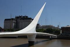 Puente de la Mujer in Puerto Madero