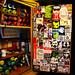 Secret graffiti laboratory right side detail - Portland, Oregon by SKAM sticker