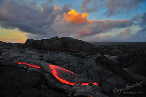 clouds sunrise kalapana volcano hawaii lava kilauea puna mikeandmel garyrandall dsc10562 mikemelwed