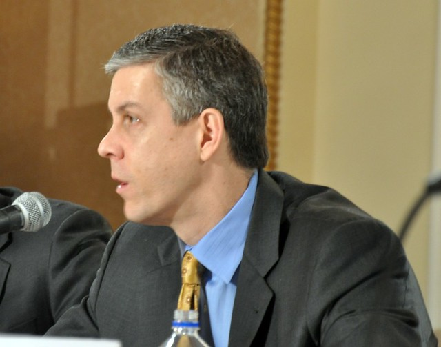 Arne Duncan speaks to mayors from Flickr via Wylio