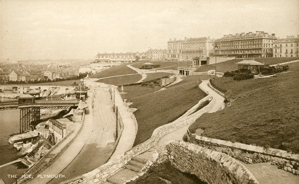 Plymouth Hoe, c.1920?