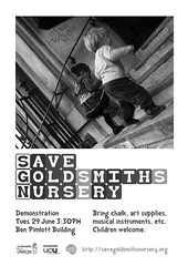 Save Goldsmiths Nursery