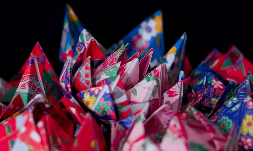 Paper Flowers 3 Photos | Origami Lotus Flowers | 728