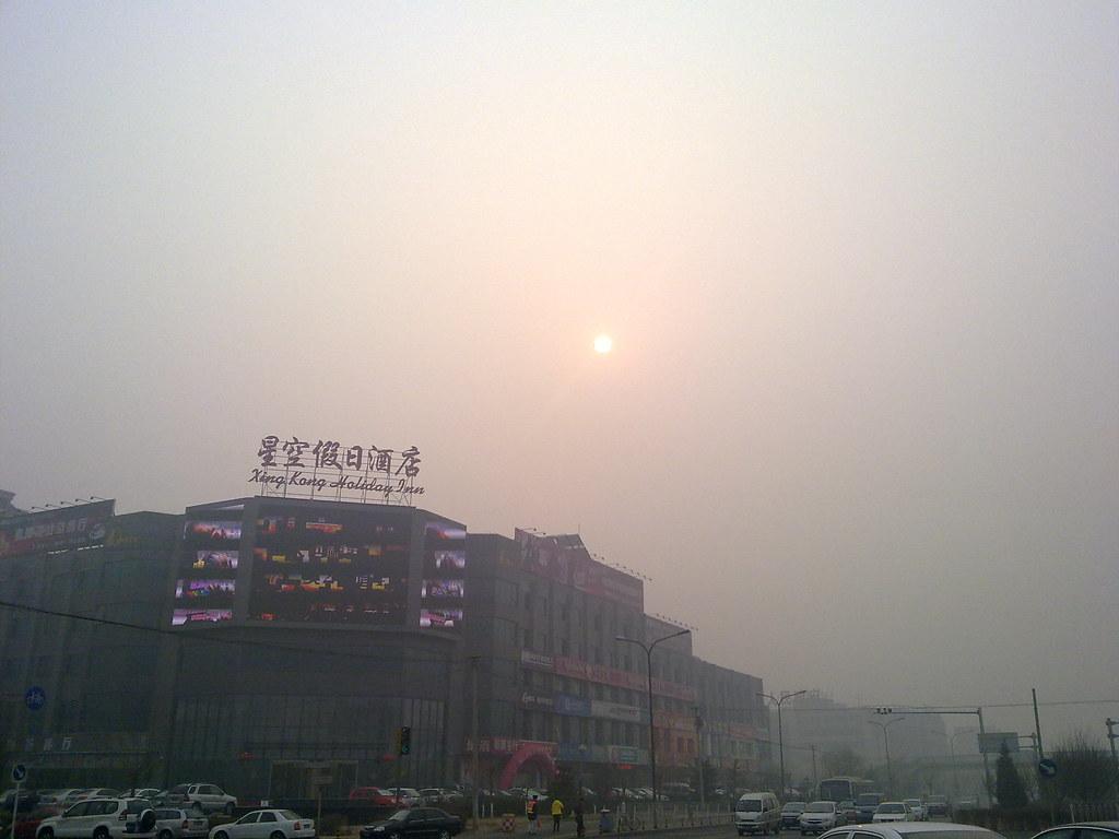 Beijing Smog February 2011 - 1