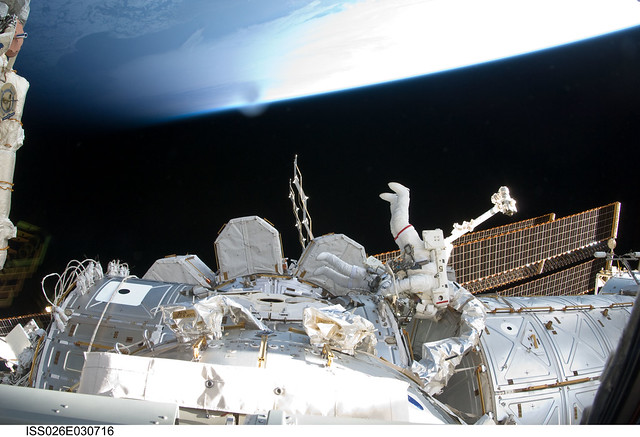 A Different View of Earth (NASA, International Space Station, 02/28/11)