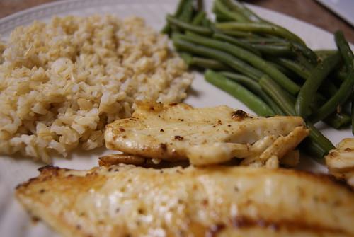 120: Fish for dinner
