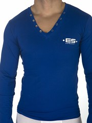 active shirt, neck, clothing, long-sleeved t-shirt, sleeve, cobalt blue, outerwear, electric blue, blue, t-shirt,