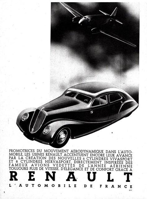 1935 Renault Nervasport Berline