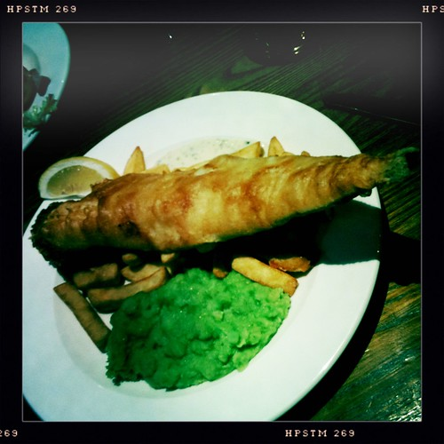 Huge fish and chips