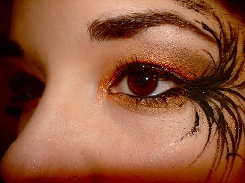 katieyunholmes: fallen angel makeup
