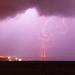 Lightning Strikes the Golden Gate Bridge by James Larieau