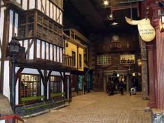 Kirkgate in York Castle Museum
