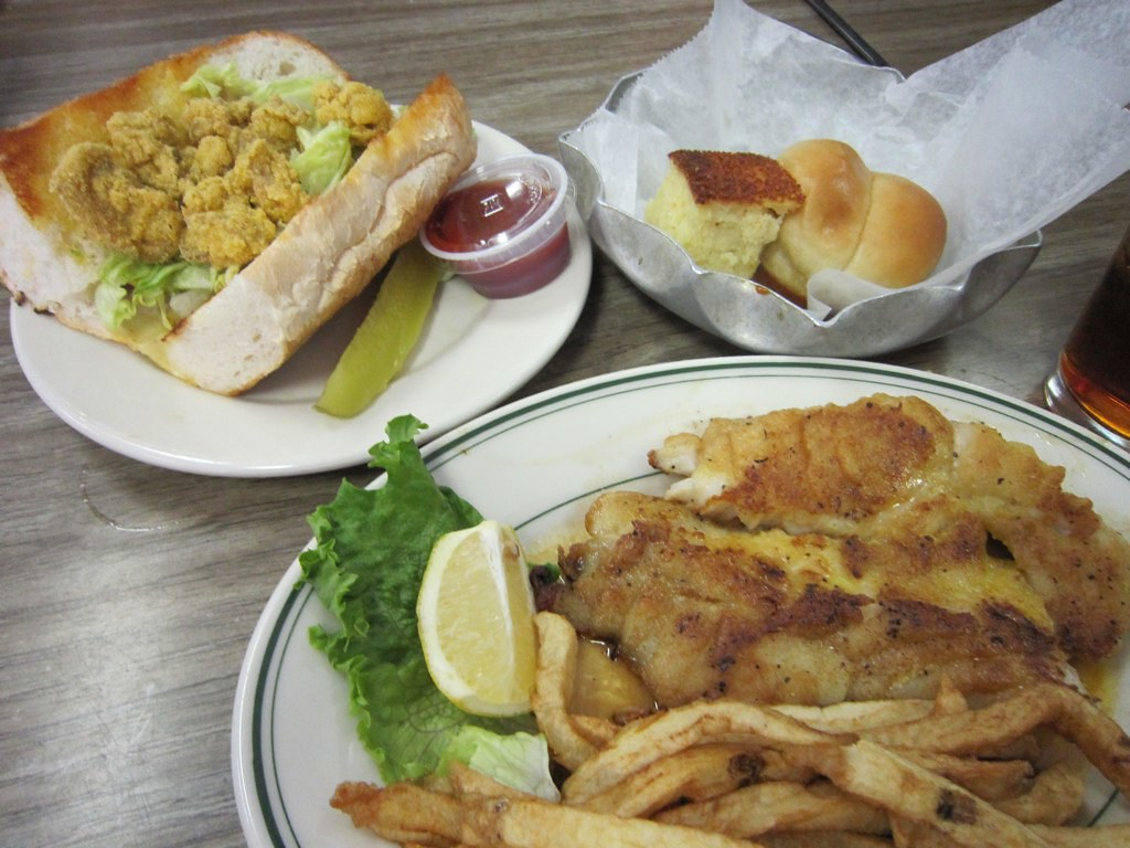 Mayflower Cafe Seafood Selections