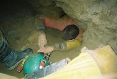 Caving: Darren Cillau (31-Oct-03) Image