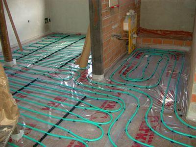 Calefacci n por suelo radiante la climatizacion mas - Calefaccion por hilo radiante ...