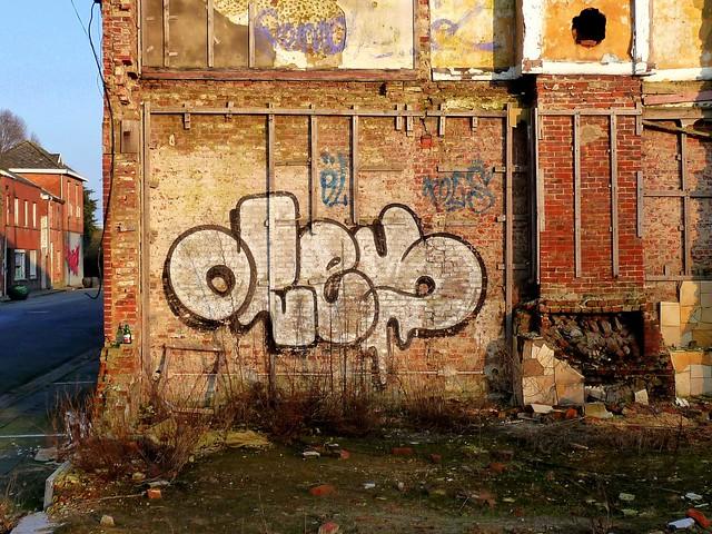 graffiti | oles | doel . belgium