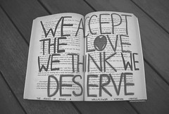 Day 62/365 ~ We Accept the Love We Think We Deserve