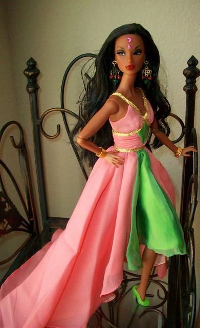 Barbie dress up games of celebrity