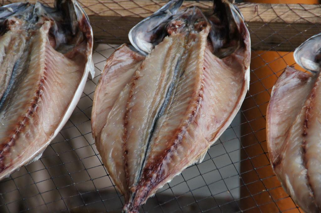 干物 dried fish