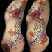 fix and rework side piece add flowers