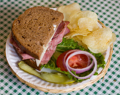 sandwich, meal, corned beef, lunch, breakfast, ham and cheese sandwich, meat, ham, food, dish, cuisine, roast beef,